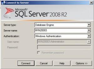 SQL Server 2008 - logowanie